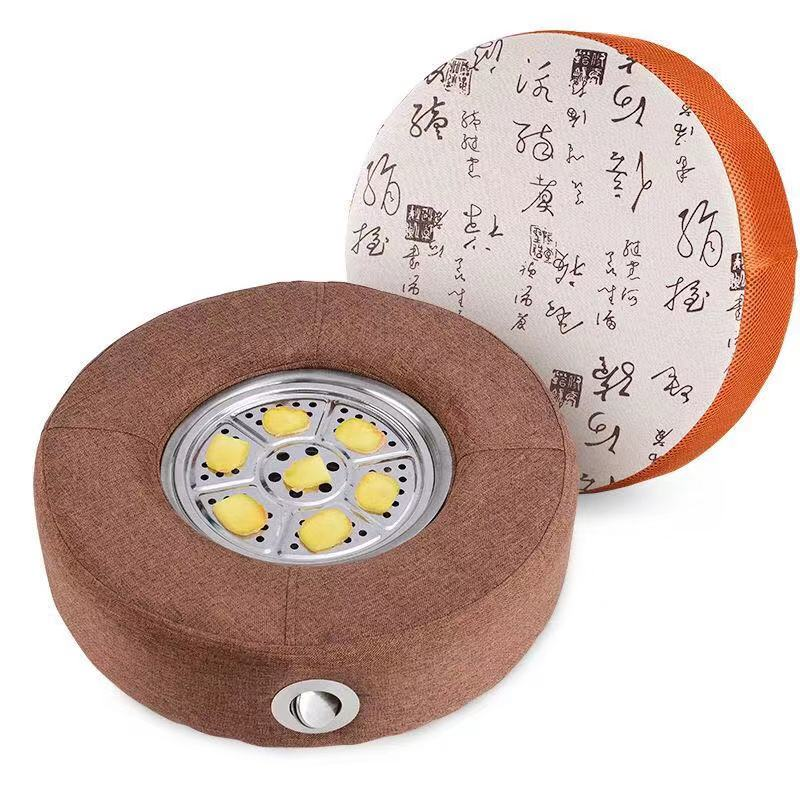 Moxibustion Cushion Instrument Stool Home Health Cold Fumigation Beauty Moxibustion Box Portable Chinese Therapy Moxibustion