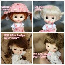 Pre Vendita Dicembre Sto Bambole Uovo Fittizio di Personalizzazione 1/8 Bjd Bambole Ob Bambola Fai da Te Ob 11 Testa di Bambola