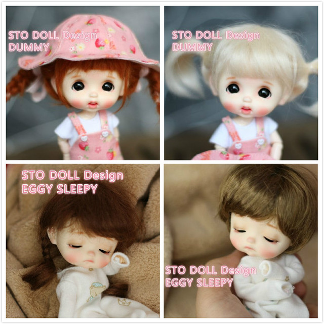 Przedsprzedaż grudzień Sto lalki jajko manekin personalizacja 1/8 lalki bjd OB lalka DIY Ob 11 głowa lalki