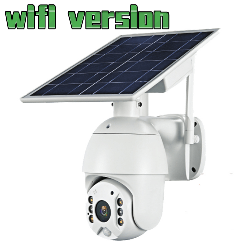 WIfi 1080P HD Solar Panel Wifi Version Outdoor Surveillance Waterproof CCTV Camera Smart Home Two way Voice Intrusion Alarm|Surveillance Cameras|   - AliExpress