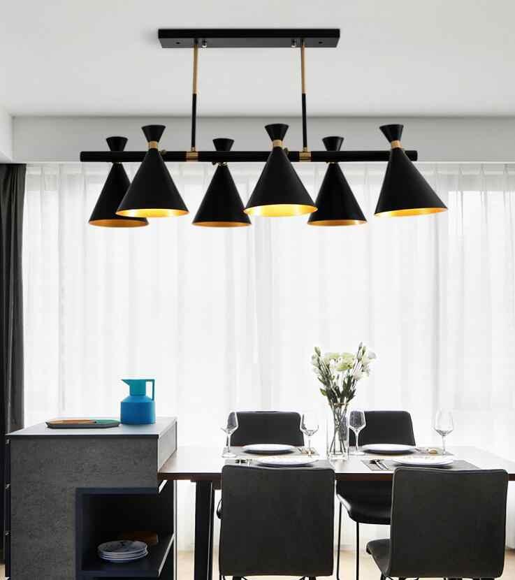 สไตล์นอร์ดิกโคมไฟสร้างสรรค์บุคลิกภาพร้านอาหารห้องนอนห้องนั่งเล่นโคมไฟบรรยากาศโมเดิร์นโคมระย้า