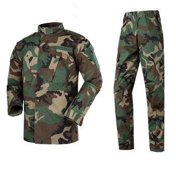 Camouflage suit male ACU military uniform camouflage military training suit 2020
