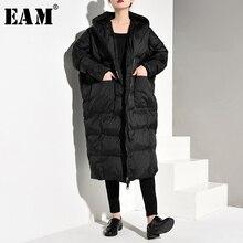 długim [EAM] zima czarny