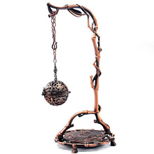 Creative Chinese Buddha Alloy bronze Incense Burner Holder Handmade Censer for Buddhist Home Office Decoration