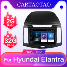 CARTAOTAO 2 din для hyundai Elantra 2.5D HD 2006-2012 автомобильный Радио Мультимедиа Видео плеер навигация gps Android 8,1 Зеркало Ссылка