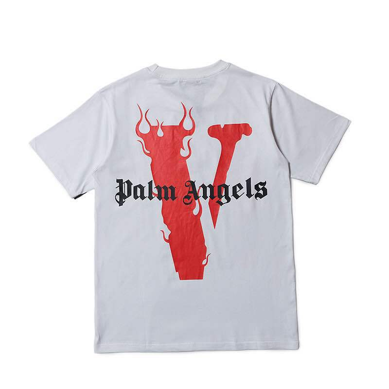 Spring And Summer Tops New Style European And American Streets Cool Large V For Lone-Style T-shirt
