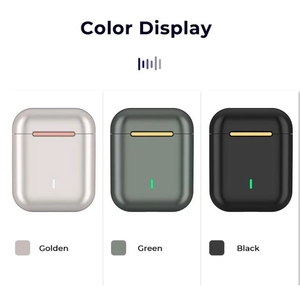 J18 наушники вкладыши TWS Bluetooth наушники Музыка динамик водонепроницаемый Сенсорный контроль звука для Iphone Huawei Xiaomi беспроводные наушники|Наушники и гарнитуры|   | АлиЭкспресс