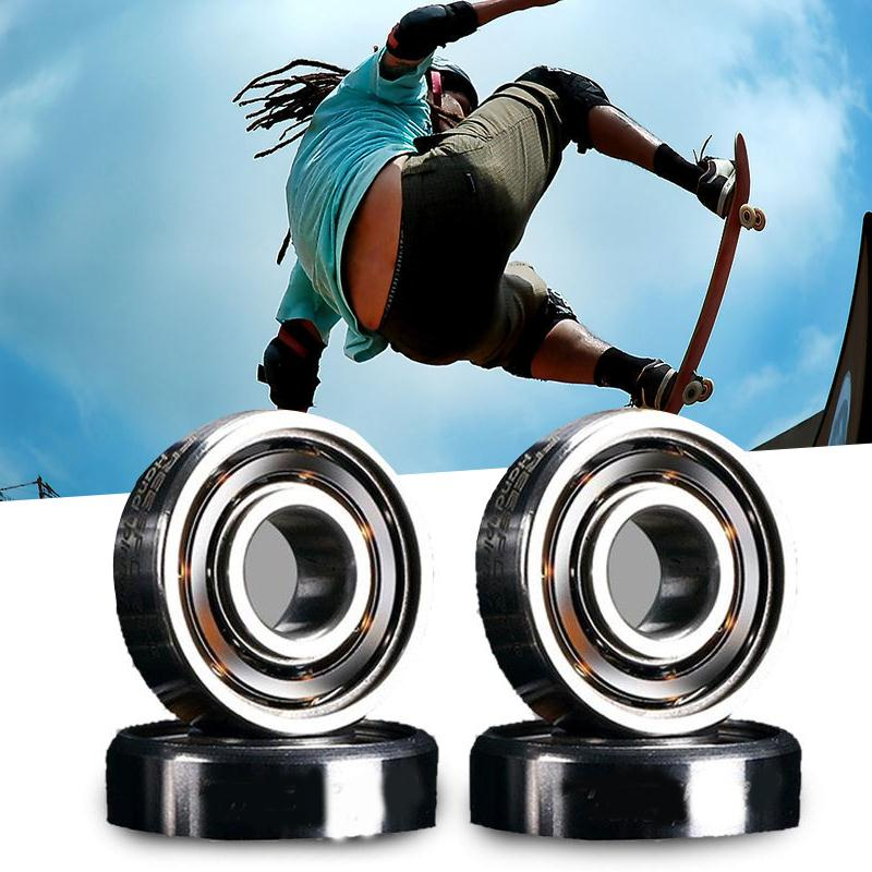 Skateboard 606RS Skate Roller Blade Hocker Wheel Inline Ball SteelBearings