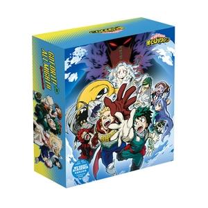 Image 3 - 1 Pc Anime mi héroe Academia caja de regalo de lujo taza de agua postal pegatina y póster cómic conjunto Anime alrededor