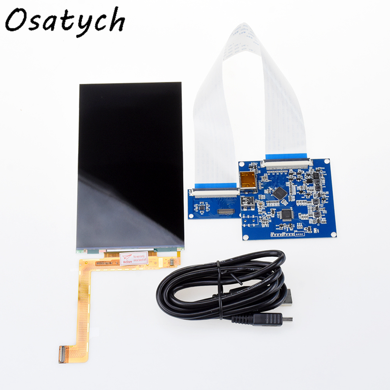 New 6inch Display Kit HDMI To MIPI+ 2K LCD Screen LS060R1SX01 1440×2560 For 3D Printing