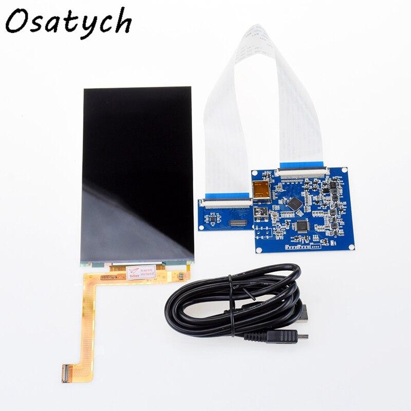 Nouveau Kit d'affichage 6 pouces HDMI vers MIPI + 2K écran LCD LS060R1SX01 1440 × 2560 pour l'impression 3D