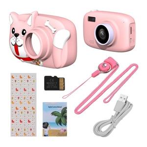 Image 5 - Mini cámara Digital para niños de dibujos animados, cámara de vídeo de 26MP 1080P, cámara de vídeo de 2,4 pulgadas con pantalla IPS, lente de cámara Dual a prueba de golpes para niños