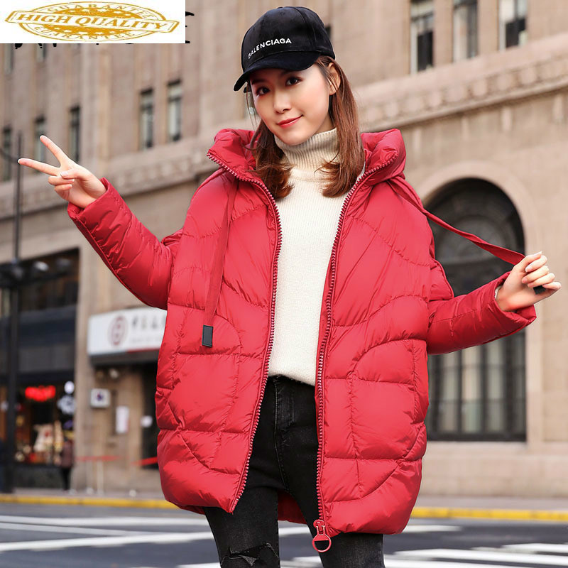 Winter Coat Women Down Coat White Duck Down Jacket Women Korean Puffer Jacket Warm Parka Chaqueta Mujer Ysxy5870 YY1476