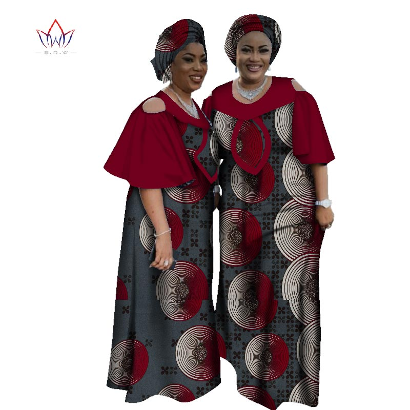 Plus Size Women Clothing Maxi Dress Dashiki Short African Dresses For Women In African Clothing Party Dress 4xl Other WY2525