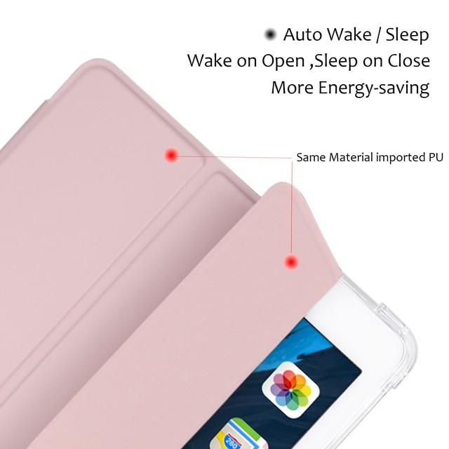 For iPad Air 4 Case 2020 iPad 10.2 Case 7 8th Generation Case Pro 11 2020 Mini 5 10.5 Air 2 9.7 6th funda iPad Pro 11 2021 Case 2