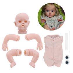 Reborn bébé poupée 12 pouces réaliste nouveau-né Flo Mini Elf vinyle non peint inachevé poupée pièces bricolage Kit de poupée vierge