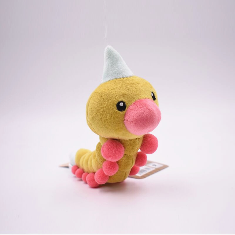 Takara Pokemon 19cm Weedle Plush Toy Soft Stuffed Peluche Dolls Gift For Kids' Christmas