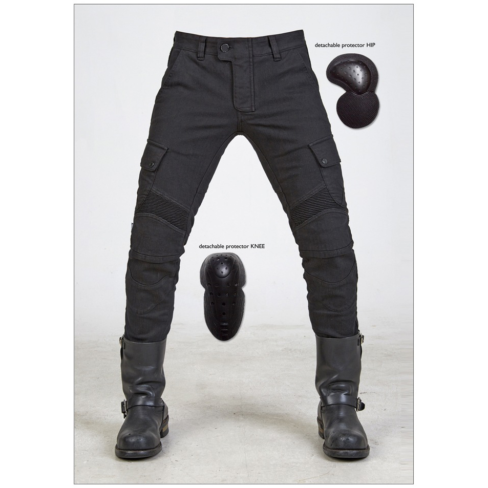 New Kevlar Motorcycle Pants Men Motocross Pants Biker Motorcycle Jeans Protective Gear Riding Motorbike Pantalones Moto Pants