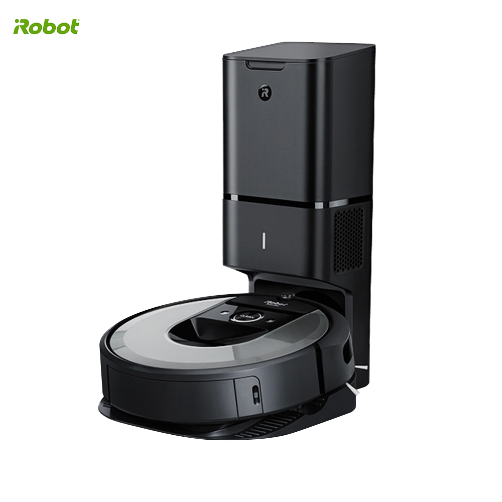 IRobot Roomba I7 Plus Robot Vacuum Cleaner Automatic Dirt Disposal Aspirador Smart Mapping Automatic Charge APP Control