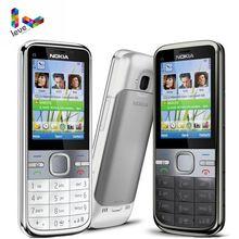 Nokia C5 Nokia C5-00 C5-00i 3,15 и 5MP Поддержка bluetooth русская и иврит и арабская клавиатура восстановленная разблокированная мобильный телефон