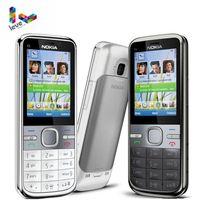 Nokia C5 Original Nokia C5 00 C5 00i 3.15&5MP Bluetooth Support Russian&Hebrew&Arabic Keyboard Refurbished Unlocked Mobile Phone
