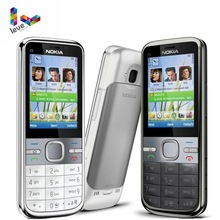 Nokia C5 Original Nokia C5-00 C5-00i 3.15&5MP Bluetooth Support Russian&Hebrew&Arabic Keyboard Refur