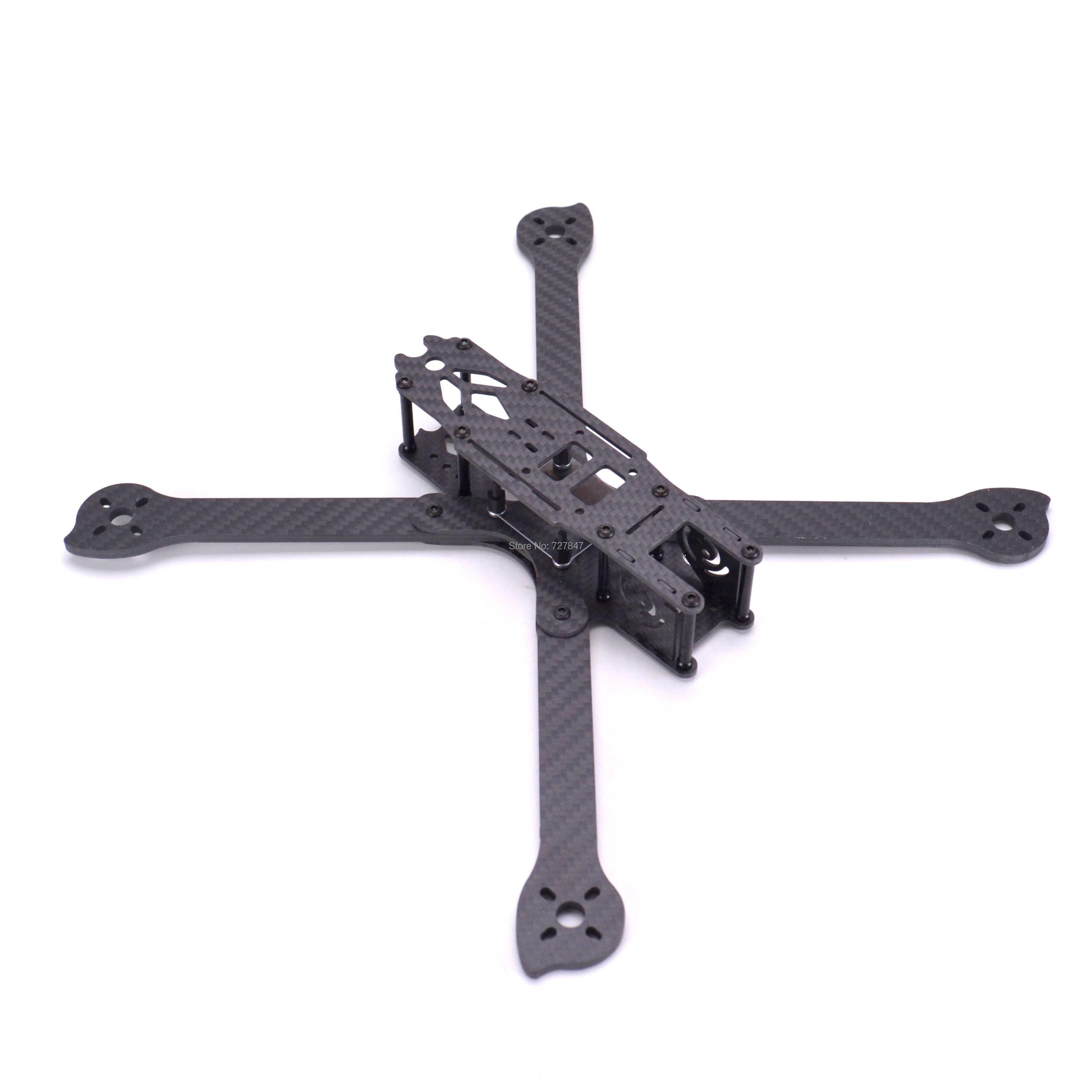 3K tam karbon Fiber TrueX XL5 V2 232mm/ XL6 V2 283mm / XL7 V2 294mm / XL8 V2 360mm/XL9 V2 390mm kol 4mm serbest çerçeve FPV için