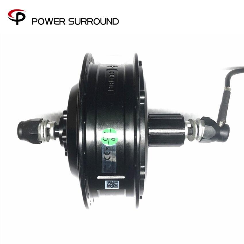 Bafang 36V//48V 500W Brushless Geared Cassette Rear Hub Motor 175mm For Fat Ebike