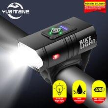 Супер яркий велосипедный светильник t6 светодиодный usb Перезаряжаемые