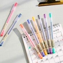Deli cor gel caneta papelaria estudante arte caneta a119
