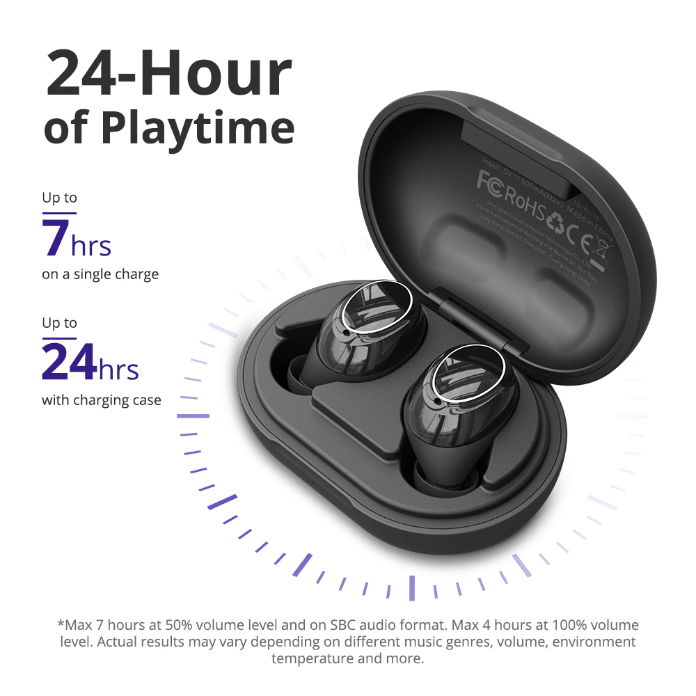 [RU/PL/ES/PT In Stock] 2020  New Tronsmart Onyx Neo TWS APTX Bluetooth 5.0 Earphones Earbuds With Volume Control &Touch Control