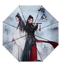 O Indomável Zhan e Wang Wei Xiao Lan Wangji Wuxian Yibo Personalizado Umbrellas