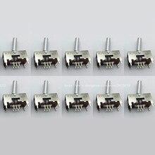 10PCS New DSK1033 Phono Line LEVER Switch For PIONEER DJM600, DJM800