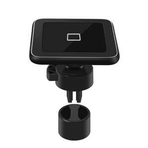Image 1 - Wireless car charger induction usb mount for iphone 11 samsung s8 s9 car charging phone holder stand qi 10W Fast charging SIKAI