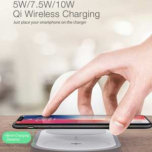 Image 5 - [QI Charge] BlitzWolf BW LT26 10W Qi Wireless Charger with 2700k 5000k LED Night Light Type C Charging Magnetic Detachable Lamp