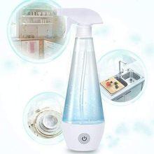 300ml Disinfection Spray Bottle Hypochlorite Water Generator Transparent Makeup Moisture Atomizer Pot Fine Mist Spray Alcohol