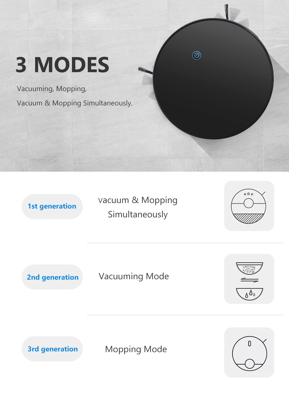 Hbf57c8fa23234e298c25ef393e17ab48l Home Intelligent Sweeping Robot App Remote Control Wireless Vacuum Cleaner Smart Wiping Machine Automatic Refill Floor Cleaner