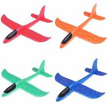 37 см EPP пена ручной бросок самолет Открытый Запуск планер самолет детский подарок игрушка интересные игрушки