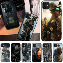 OFFeier Special soldier Black TPU Soft Rubber Phone Cover For iPhone 5C 6 6S 7 8 plus X XS XR XS MAX 11 11 pro 11 Pro Max offeier canyon view cover black soft shell phone case for iphone 5c 6 6s 7 8 plus x xs xr xs max 11 11 pro 11 pro max