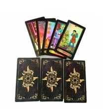 Deck-Set Games-Accessories Card-Board Tarot 78-Cards English-Version Adults Future-Telling
