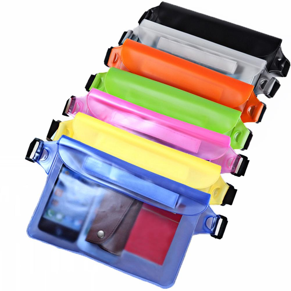 Outdoor Sports Swimming Beach Large Capacity PVC Waterproof Underwater Waist Bag Fanny Pack Beach Dry Pouch Phone Case Wallet