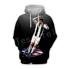Tessffel Cristiano Ronaldo Athletes Tracksuit 3DfullPrint Hoodie/Sweatshirt/Jacket/shirts Mens Womens hiphop fit casual style-12