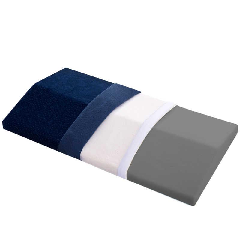 שינה כרית זיכרון קצף המותני תמיכת מותניים טריז כרית מיטה לשינה רגל גובה לסלון חדר שינה כרית