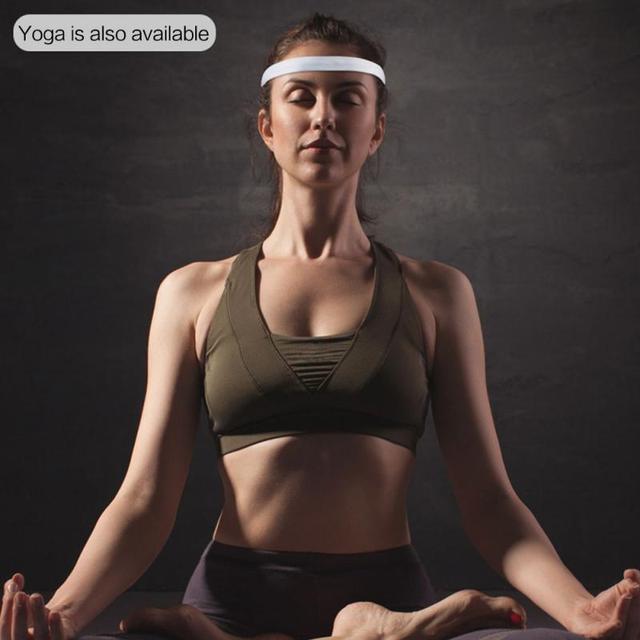 Unisex Sweat Guiding Belt Sports Gym Headband Anti-Slip Breathable Basketball Fitness Yoga Volleyball Cycling Hair Band 2