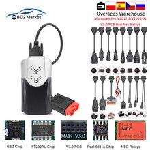 Multidiag Scanner Auto-Tool Car Diagnostic Obd2 Bluetooth 2-Obd2 for PCB V3.0