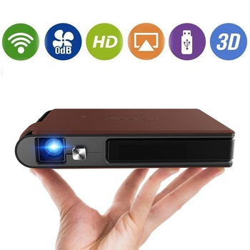 S6W DLP MINI Projector Chargeable WIFI Portable LED Projector Video 3D Full Hd Beamer for 1080P Smart Mobile Home Cinema Theater