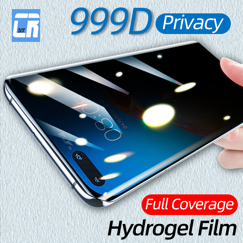 Anti-spy Full Curved Screen <font><b>Protector</b></font> for <font><b>Huawei</b></font> P40 <font><b>P30</b></font> Privacy Hydrogel Film for <font><b>Huawei</b></font> Nova 7 Mate 20 Honor 30 <font><b>Pro</b></font> Not <font><b>Glass</b></font> image