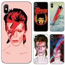 David BowieสำหรับSamsung Galaxyหมายเหตุ 3 4 5 8 9 S3 S4 S5 Mini S6 S7 edge S8 S9 S10 Plus(China)
