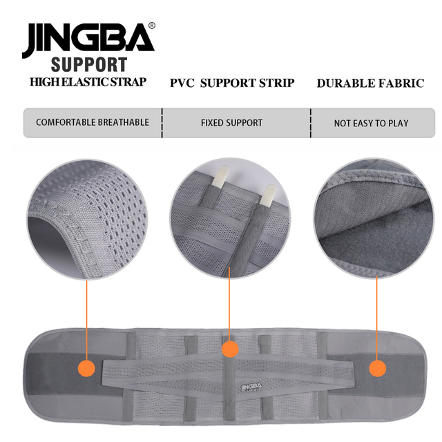 JINGBA SUPPORT fitness sports waist back support belts sweat belt trainer trimmer musculation abdominale Sports Safety factory 4
