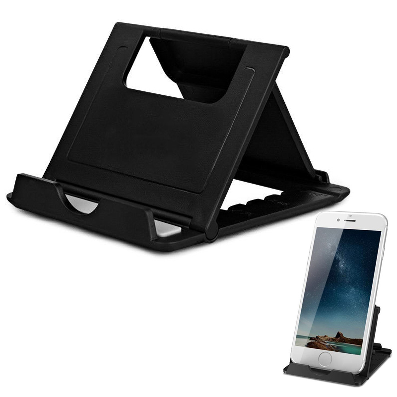 Universal Folding Table Cell Phone Support Plastic <font><b>Holder</b></font> Desktop Stand For Your Phone <font><b>Smartphone</b></font> Tablet Support Phone <font><b>Holder</b></font> image